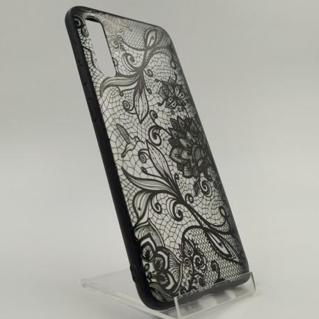 BLACK LACE CANOIE Samsung A50/A30s