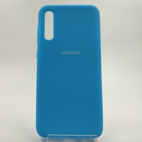 SILICONE CASE SAM A50/A30s JUST BLUE