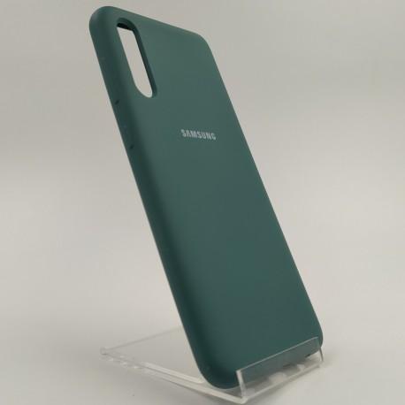 SILICONE CASE Samsung A50 Blue Green