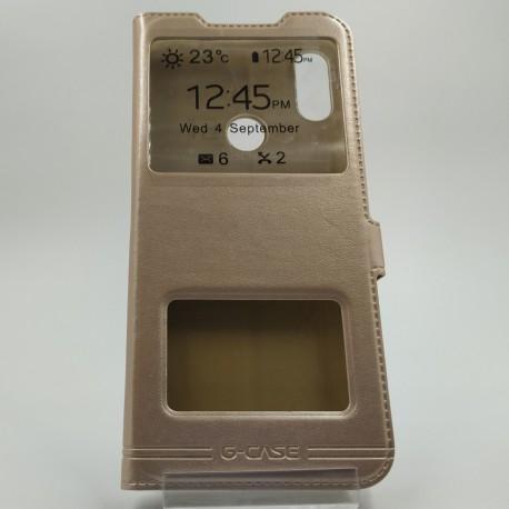G-CASE BOOK Xiaomi Redmi Note7 Gold