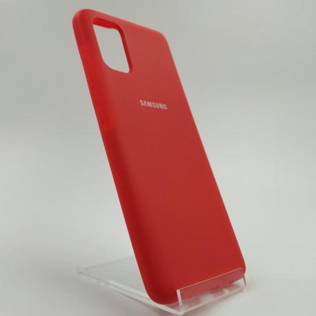 SILICONE CASE Samsung A51 Red