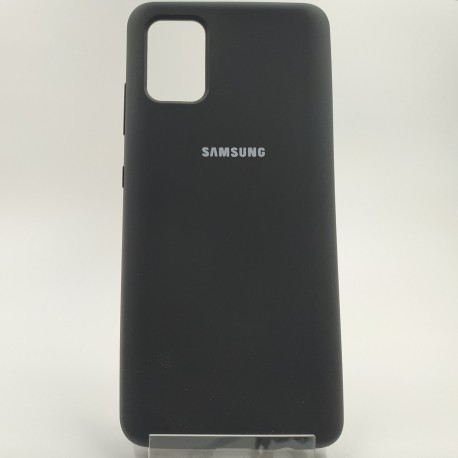 SILICONE CASE Samsung A51 Black