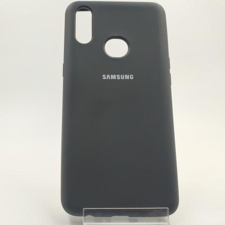 Silicone case Samsung A10S Black