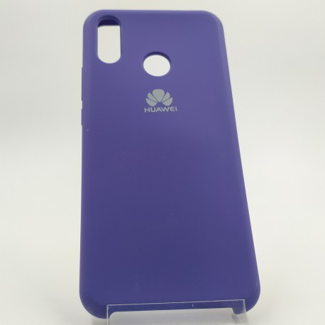 Silicone case Huawei P Smart+ Purple