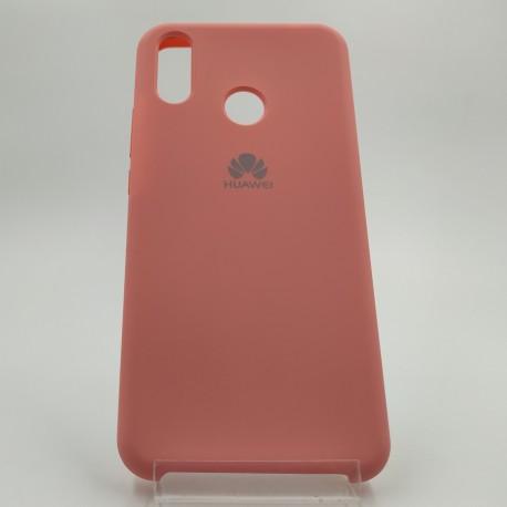 Silicone case Huawei P Smart+ Peach