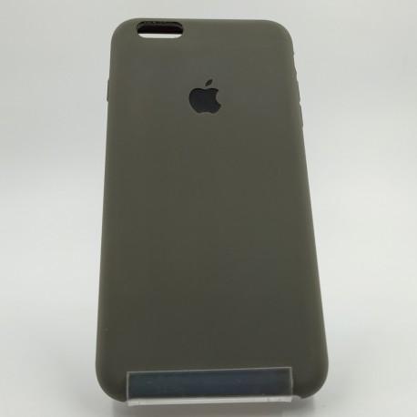 Силиконовый чехол (silicone case) iPhone 6G+ Gray (Серый)