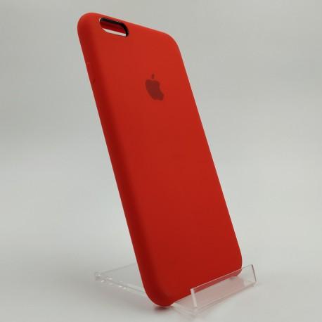 Силиконовый чехол (silicone case) iPhone 6G+ Red (Красный)