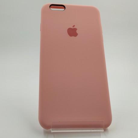 Силиконовый чехол (silicone case) iPhone 6G+ Pink (Розовый)