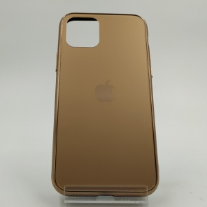 NEW ORIGINAL GLASS CASE MATTE Iphone 11 Pro Max Gold