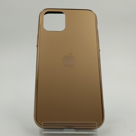 NEW ORIGINAL GLASS CASE MATTE Iphone 11 Gold