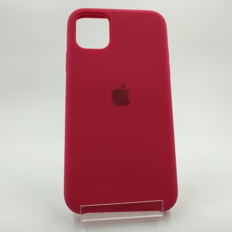 SILICONE CASE IPHONE 11 Rose red