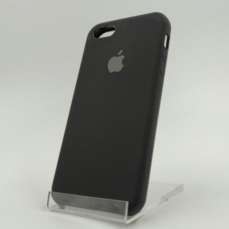 Оригинальный матовый чехол Silicone Case iPhone 5G/5S/5SE Black