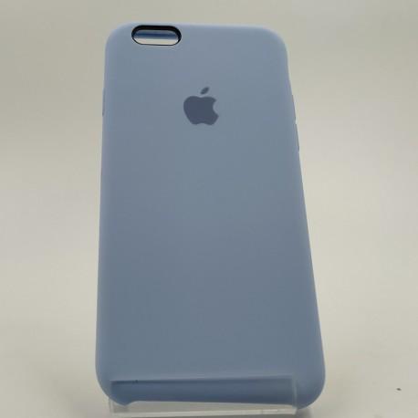 Оригинальный матовый чехол Silicone Case iPhone 6G/6S Blue Agate