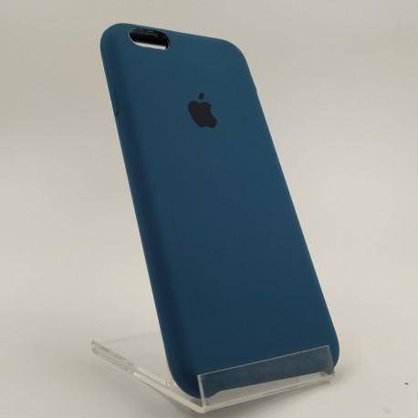 Оригинальный матовый чехол Silicone Case iPhone 6G/6S Blue Cobalt