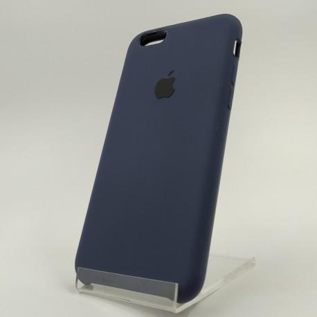 Оригинальный матовый чехол Silicone Case iPhone 6G/6S Navy storm