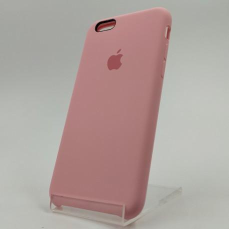Оригинальный матовый чехол Silicone Case iPhone 6G/6S Pink