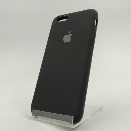 Оригинальный матовый чехол Silicone Case iPhone 6 Plus Black (Черный)