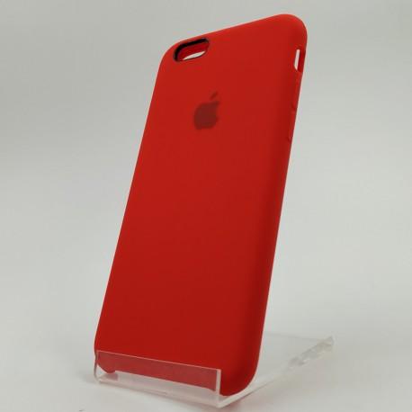 Силиконовый чехол (silicone case) Apple iPhone 6G/6S Red (Красный)