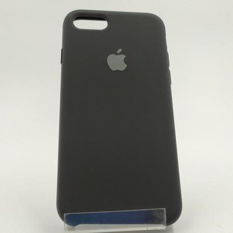 Оригинальный матовый чехол Silicone Case iPhone 7G Black