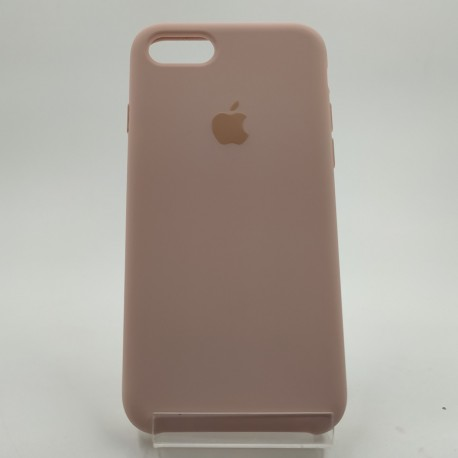 Оригинальный матовый чехол Silicone Case iPhone 7G/8G Matte Pink