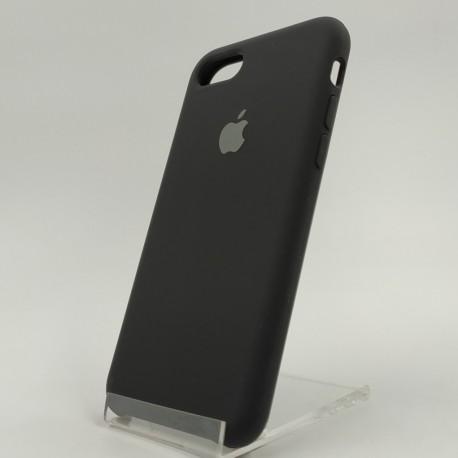 Оригинальный матовый чехол Silicone Case iPhone 7G+ Black