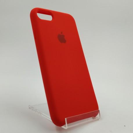 Оригинальный матовый чехол Silicone Case iPhone 7G+ Red