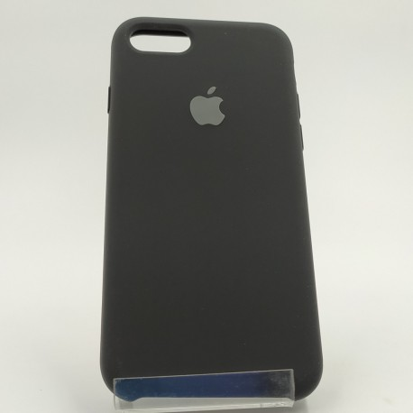 SILICONE CASE IPHONE 8G Black