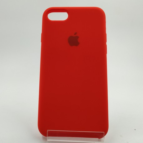 SILICONE CASE IPHONE 8G Red