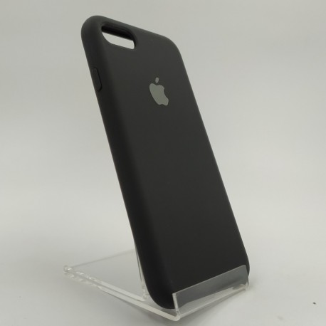SILICONE CASE IPHONE 8G+ Black