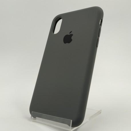 Оригинальный матовый чехол Silicone Case iPhone X/Xs Gray