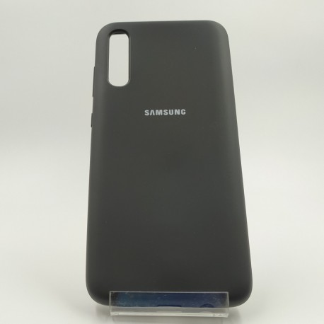 Silicone case Samsung A70 Black