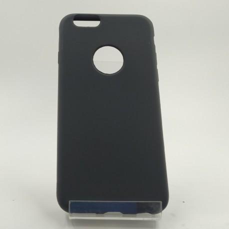 Силиконовый матовый чехол-накладка Simin Style iPhone 6G/6S Black