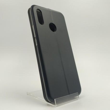 Кожаный противоударный чехол-книжка Nillkin Huawei P Smart Plus Black