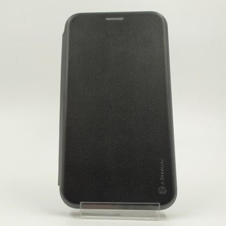 Кожаный противоударный чехол-книжка Nillkin Samsung Galaxy J7 Black