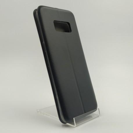 Кожаный противоударный чехол-книжка Nillkin Samsung Galaxy S8 Black