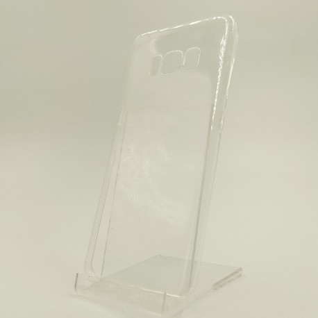 Чехол силиконовый REMAX ультратонкий прозрачный Samsung Galaxy S8 White
