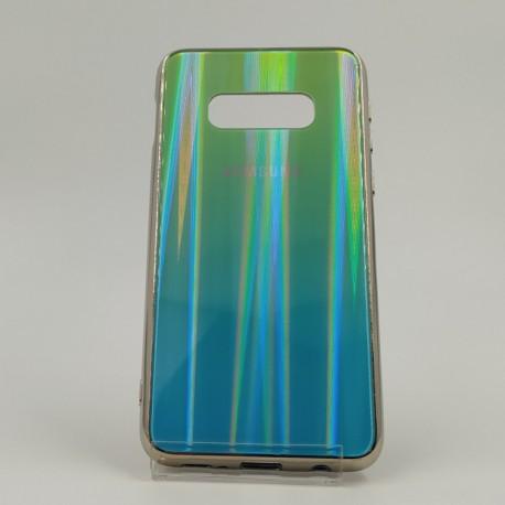 Gradient Glass Case Samsung S10E aquamarine