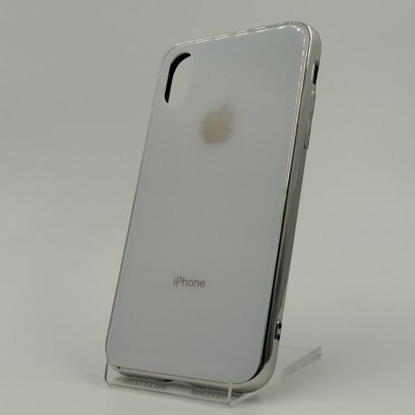Стеклянный чехол Glass Case для iPhone iPhone X/Xs White
