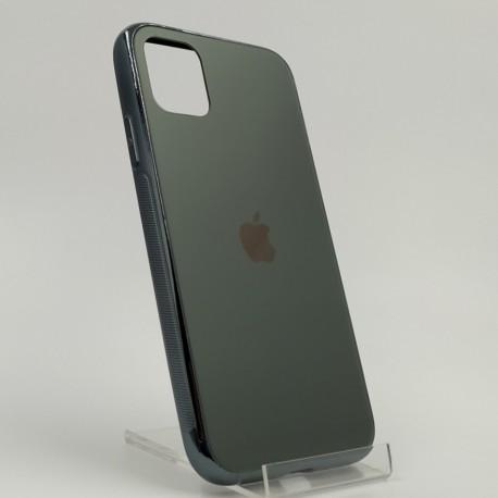 ORIGINAL GLASS CASE MATTE Iphone 11 Pro Max Midnight Green