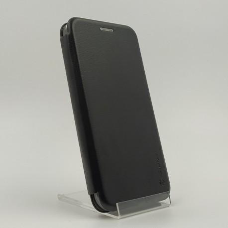 Кожаный противоударный чехол-книжка Nillkin Samsung J3 2016 J310/J320 Black