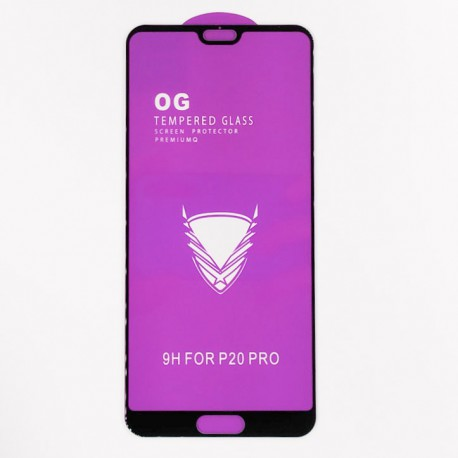 Full Glue Glass Huawei P20 Pro Black
