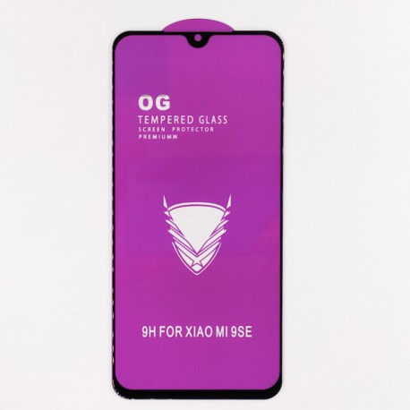 Full Glue Glass Xiaomi Mi9se/Mi Play Black