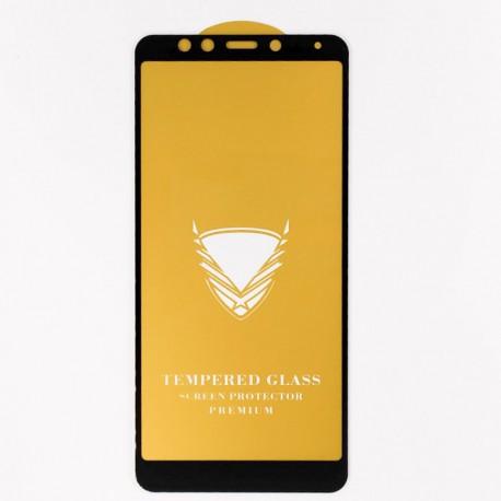 Защитное стекло Full Glue Glass Xiaomi Redmi 5 Black (Черный)