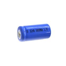 Перезаряжаемая батарейка в фонарик 16340 3.7V 5800 mAh