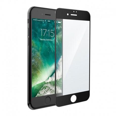 Защитное стекло 3D Glass Rock Front iPhone 7G Black (Черный) Перед