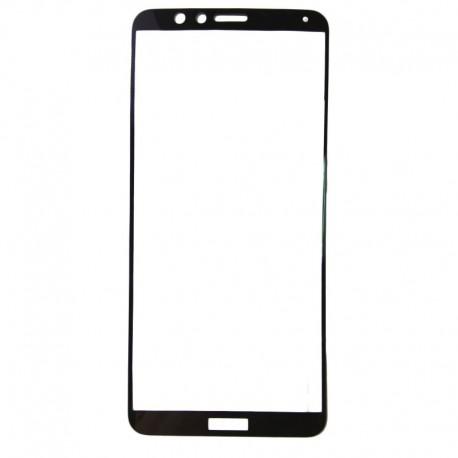 Защитное стекло 2.5D GLASS HOCO Huawei Honor 7X Black (Черный) Перед