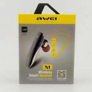 NEW Гарнитура AWEI N1 Wireless (vacuum)