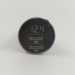 (отч) NEW АЗУ Baseus 2usb/4,8A + voltm (ccbx-0g)