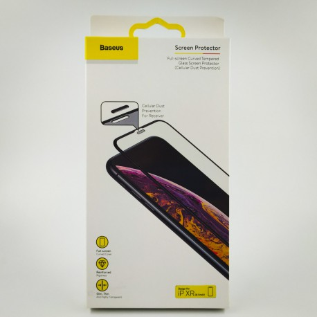 NEW 3DGLASS PREMIUM BASEUS (setka) iPhone XR/11 Black