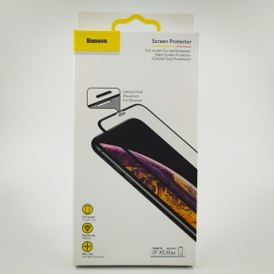 NEW 3DGLASS PREMIUM BASEUS (setka) iPhone XS Max/11pro Max Black